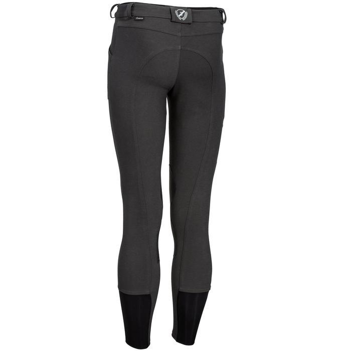 Pantalon chaud équitation homme VICTOR gris foncé - 1164998