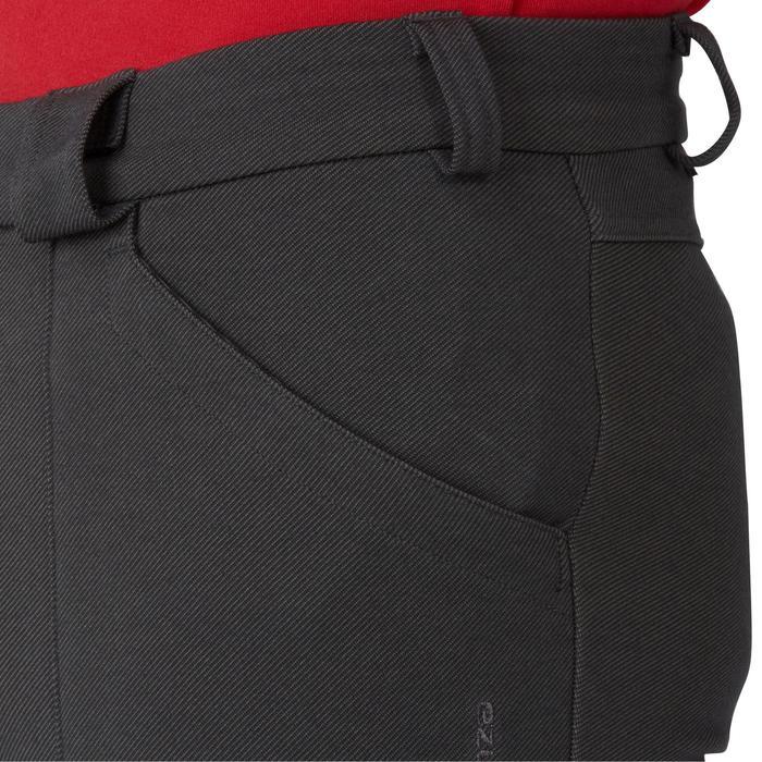 Pantalon chaud équitation homme VICTOR gris foncé - 1165003