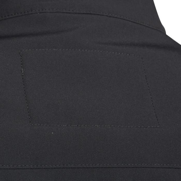 Softshell jas 500 voor heren ruitersport donkergrijs