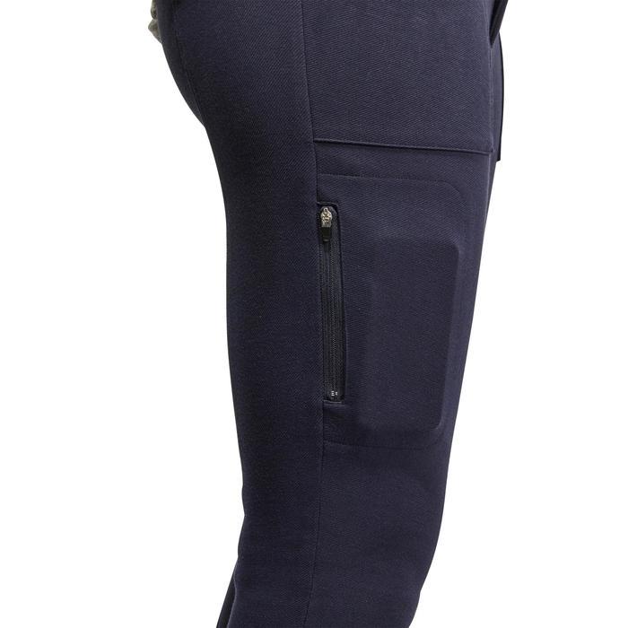 Pantalon chaud équitation homme VICTOR gris foncé - 1165038