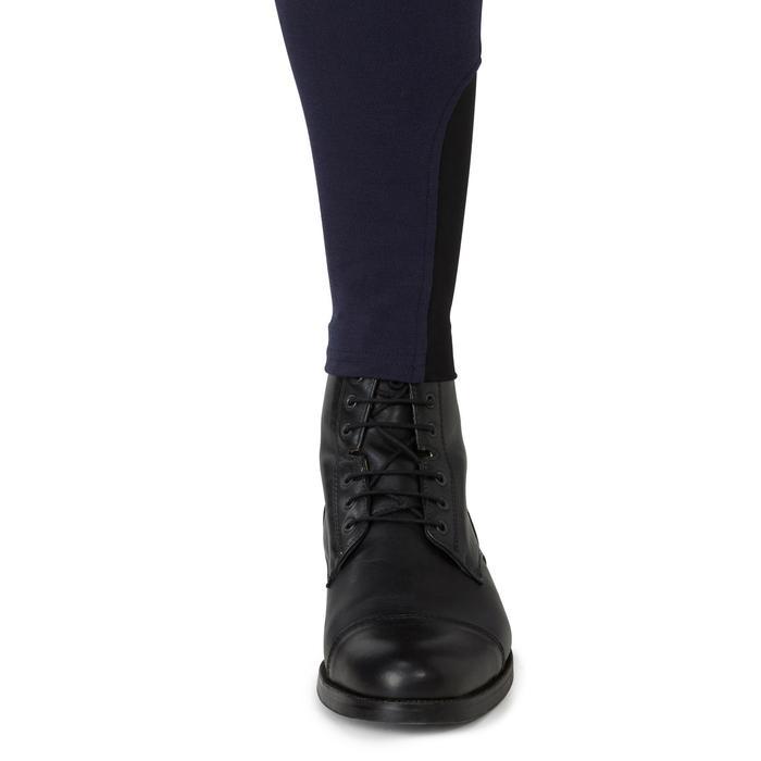 Pantalon chaud équitation homme VICTOR gris foncé - 1165041