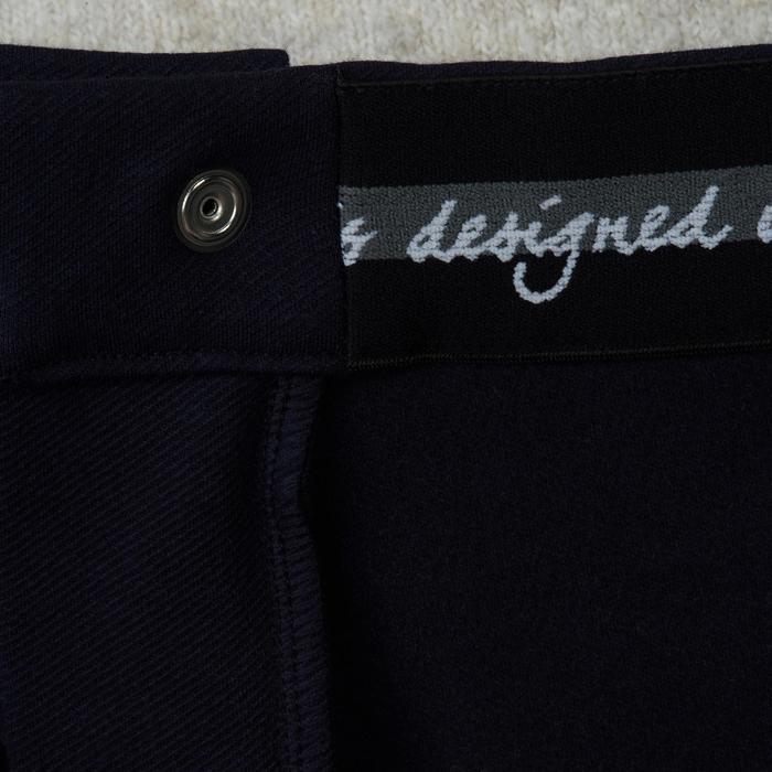 Pantalon chaud équitation homme VICTOR gris foncé - 1165043