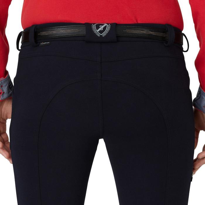 Pantalon chaud équitation homme VICTOR gris foncé - 1165046