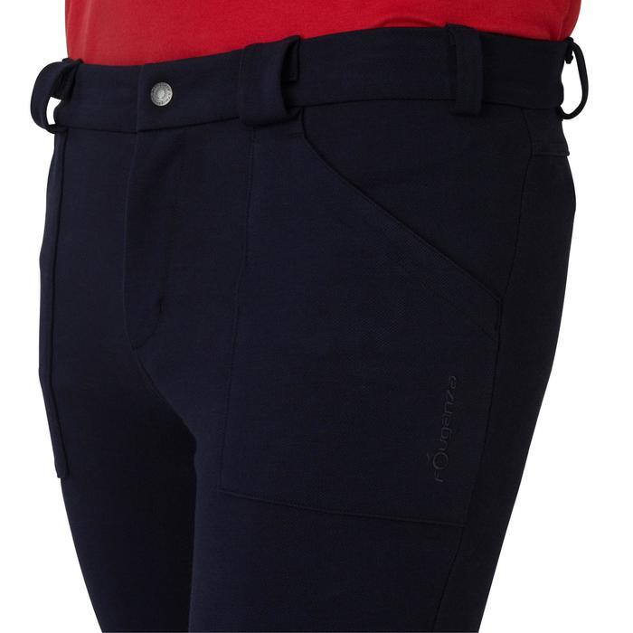 Pantalon chaud équitation homme VICTOR gris foncé - 1165048