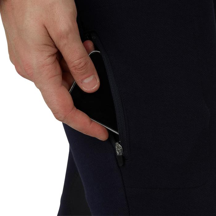 Pantalon chaud équitation homme VICTOR gris foncé - 1165050