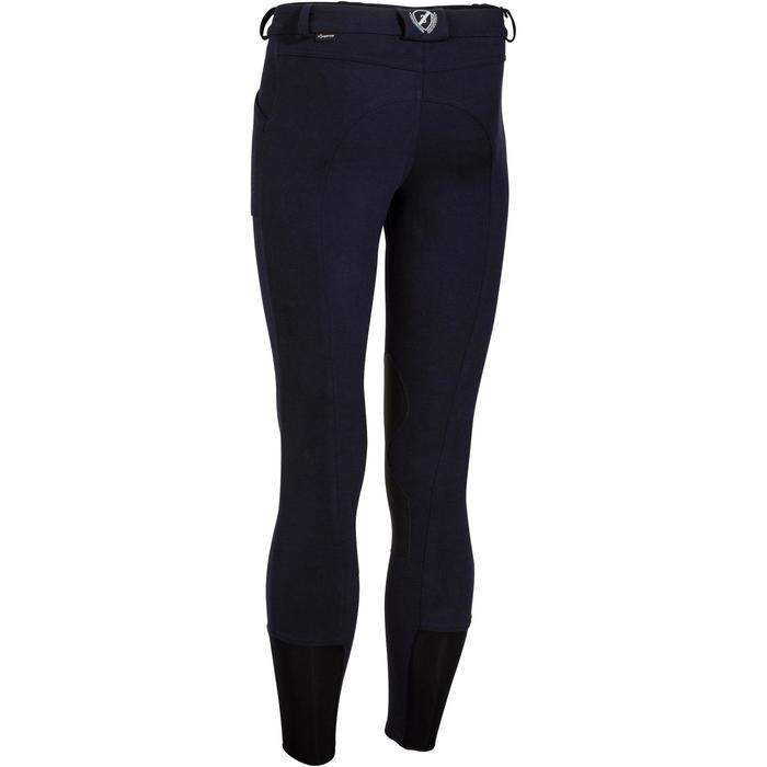 Pantalon chaud équitation homme VICTOR gris foncé - 1165059