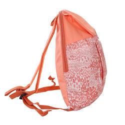 Arpenaz 7 litre Children's Hiking Rucksack - Coral Print