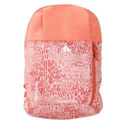 Arpenaz 7 litre Kid Back Pack Print - Coral