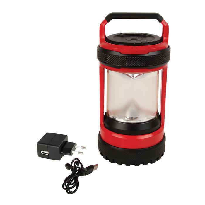 Campinglampe Conquerspin 550 Lumen schwarz