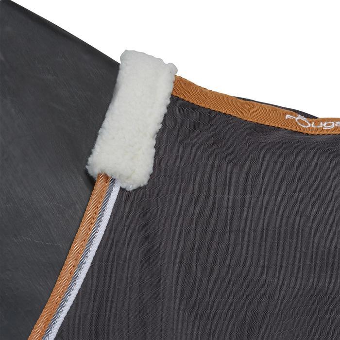 Couverture écurie équitation cheval et poney INDOOR 200 gris foncé - 1165525