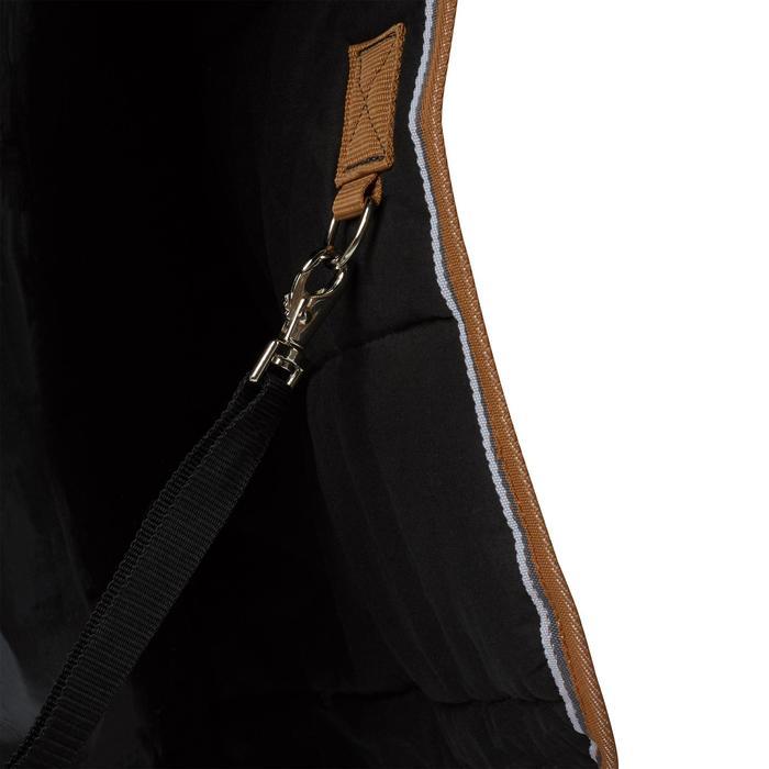 Couverture écurie équitation cheval et poney INDOOR 200 gris foncé - 1165536