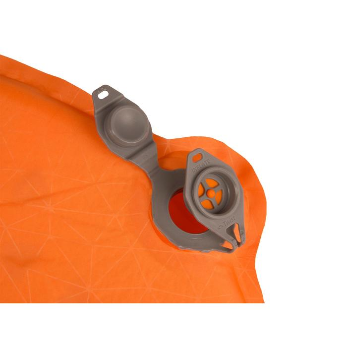 Matelas de trekking Ultralight S.I. autogonflant orange