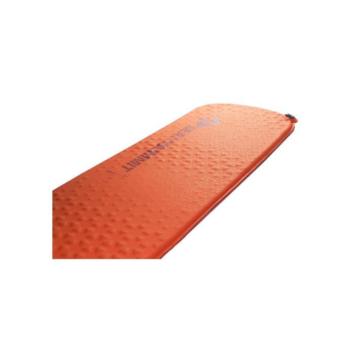 Aislante de trekking Ultralight S.I. autohinchable naranja