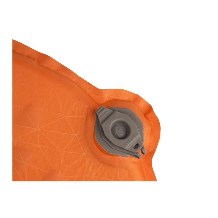 Aislante autohinchable vivac/travesía/trekking SEATOSUMMIT Ultralight SI Naranja
