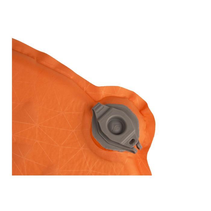 Zelfopblazend slaapmatje voor trekking Ultralight S.I. oranje