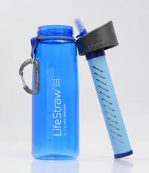 Drinkfles met filter Lifestraw Go 0,65 liter kunststof (Tritan) blauw