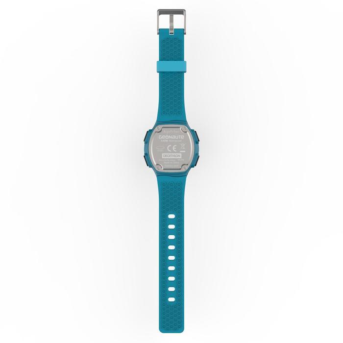 Montre chronomètre de course à pied homme W500 M noire reverse - 1165608