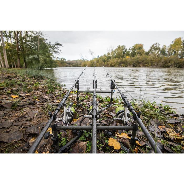 SUPPORT DE CANNES PÊCHE DE LA CARPE ROD POD 1 SMALL 3 CANNES