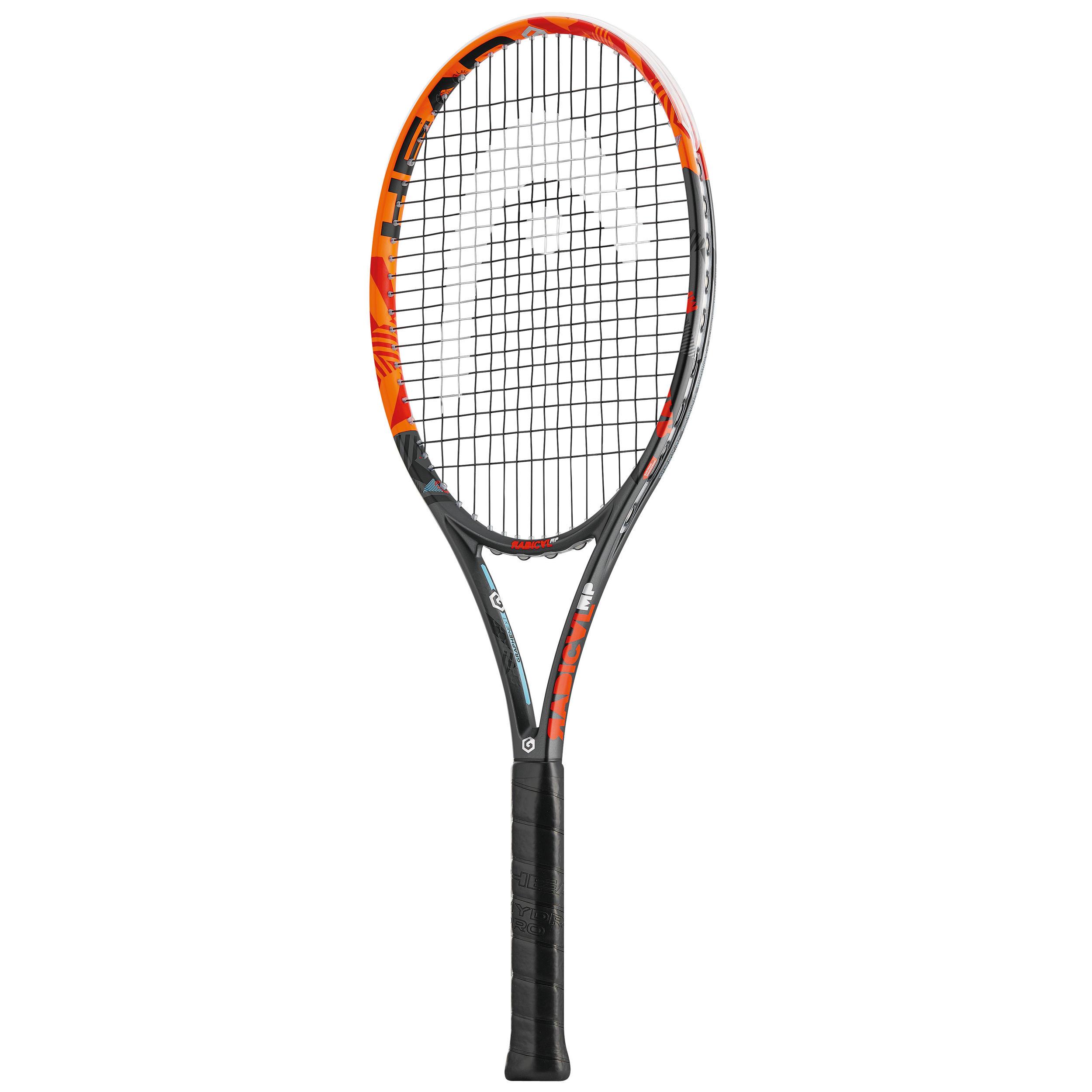 Head Tennisracket volwassenen Radical MP oranje/zwart