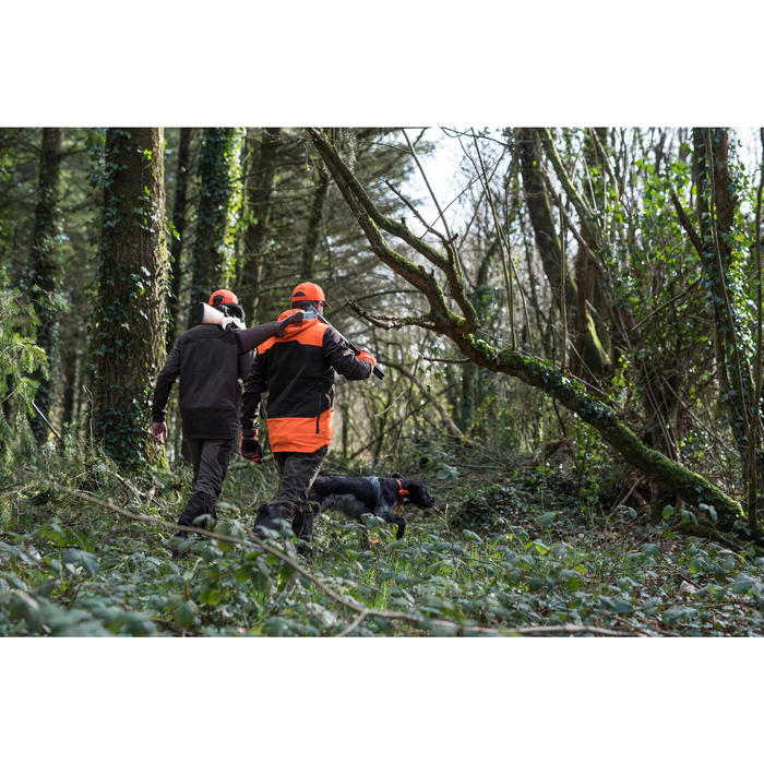 SOFTSHELL CHASSE 500 FLUO/MARRON - 1166251