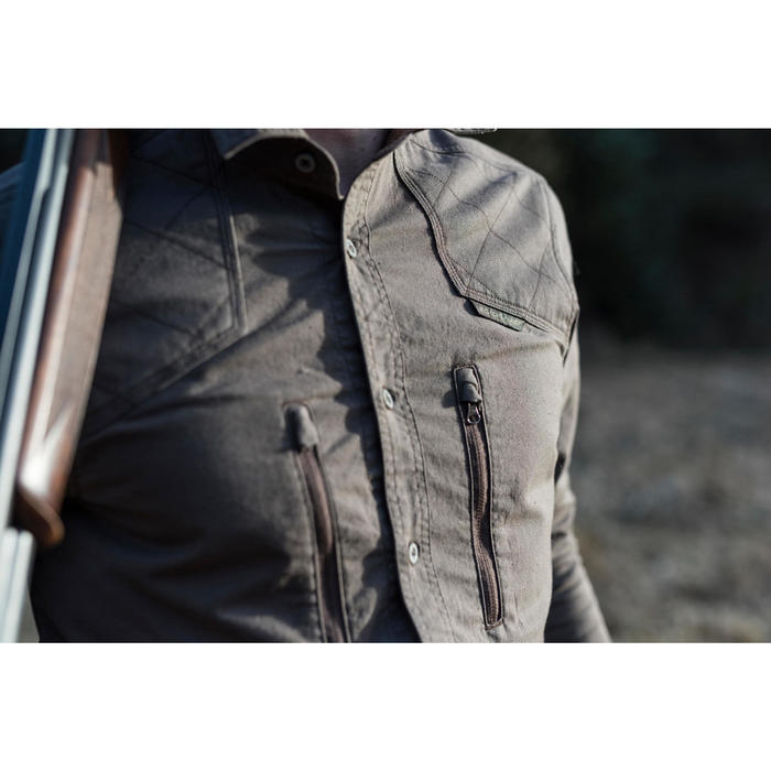 Jagdhemd Renfort 520 Langarm braun