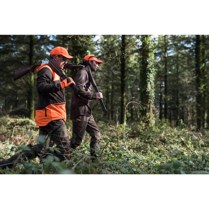 SOFTSHELL chasse 500 FLUO/MARRON - 1166271