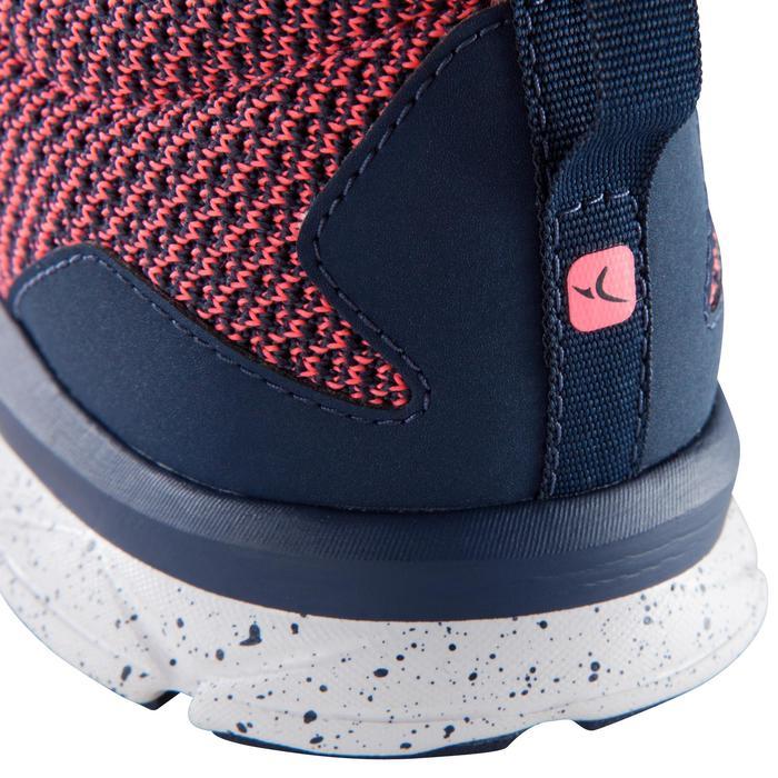 Chaussure fitness cardio femme bleu et rose Energy 500 - 1166373