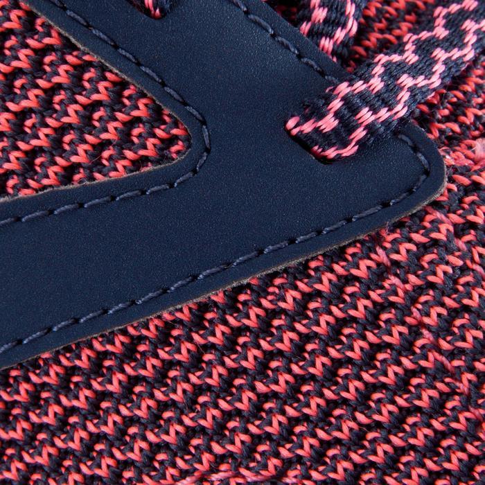 Chaussure fitness cardio femme bleu et rose Energy 500 - 1166375