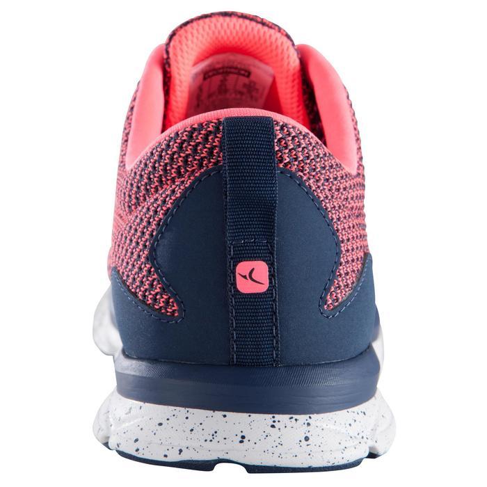 Chaussure fitness cardio femme bleu et rose Energy 500