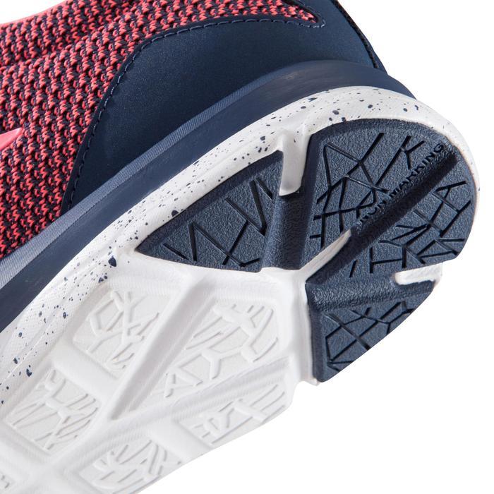Chaussure fitness cardio femme bleu et rose Energy 500 - 1166388