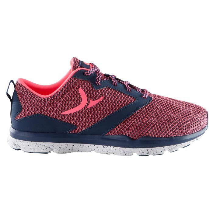 Chaussure fitness cardio femme bleu et rose Energy 500 - 1166394