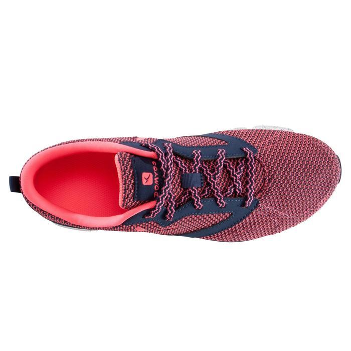 Chaussure fitness cardio femme bleu et rose Energy 500 - 1166410
