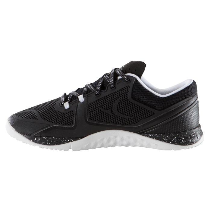Chaussure de cross training femme noir et blanche Strong 900 - 1166435