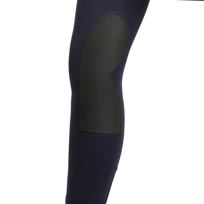 Pantalon chaud équitation homme VICTOR gris foncé - 1166448
