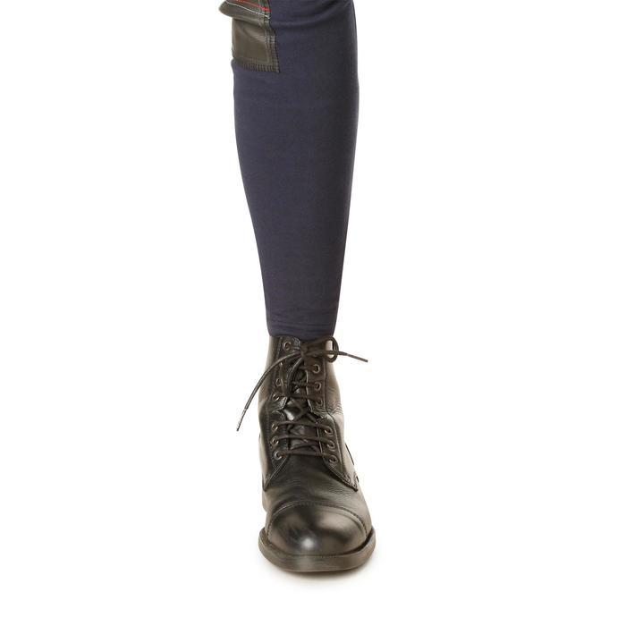 Pantalon chaud équitation femme VICTORIA bleu marine - 1166490