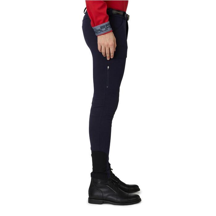 Pantalon chaud équitation homme VICTOR gris foncé - 1166576
