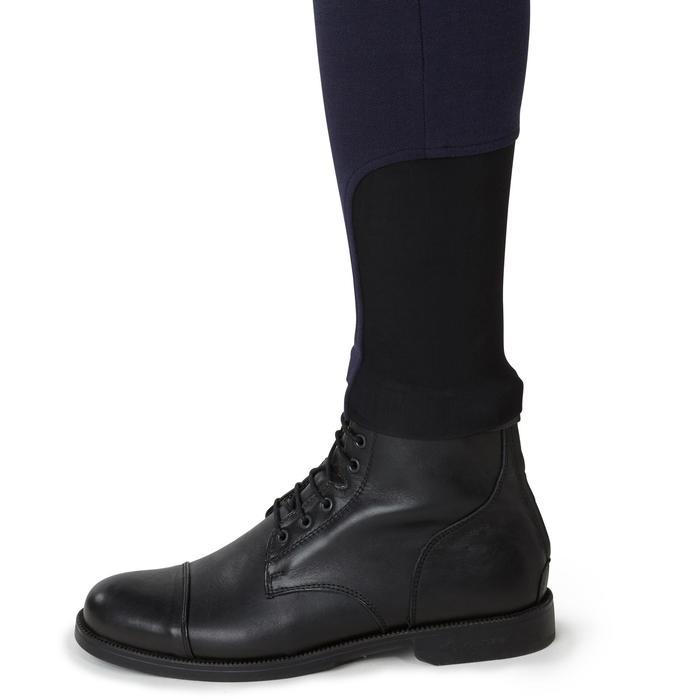 Pantalon chaud équitation homme VICTOR gris foncé - 1166578