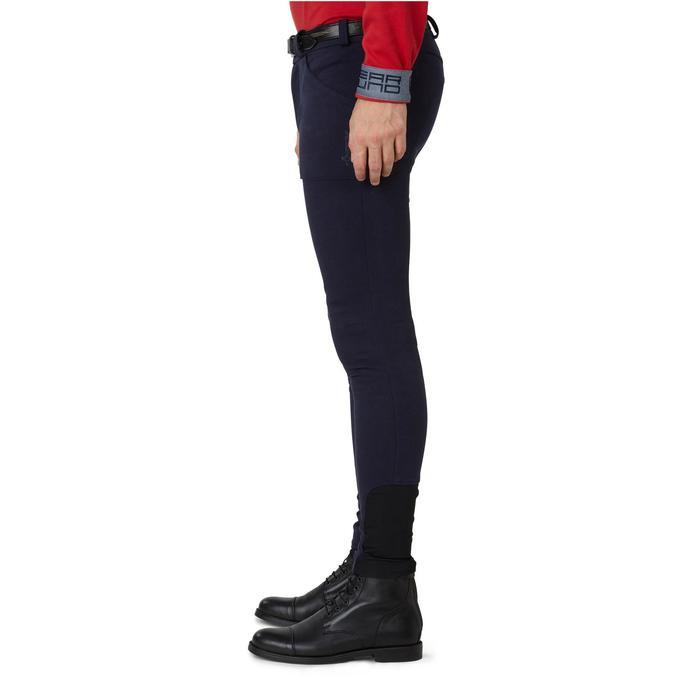 Pantalon chaud équitation homme VICTOR gris foncé - 1166579