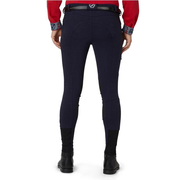 Pantalon chaud équitation homme VICTOR gris foncé - 1166581