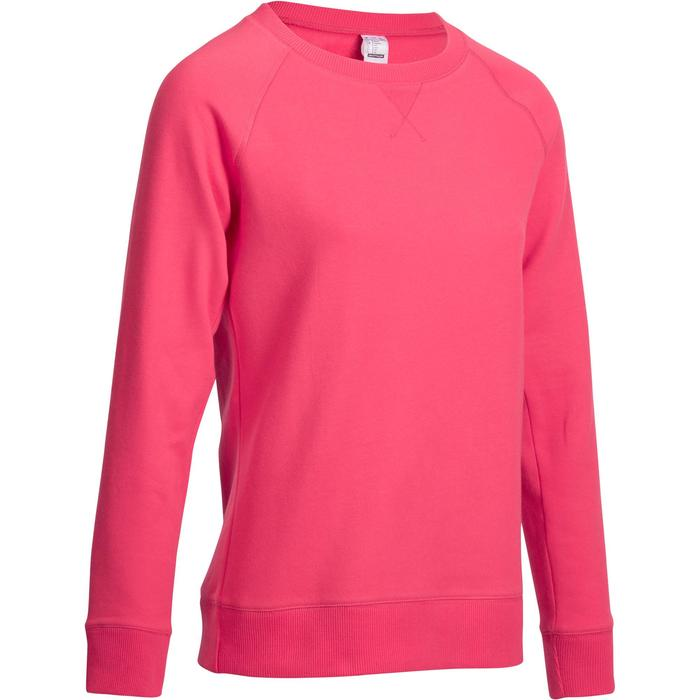 Sweat col rond Gym & Pilates  femme - 1166633