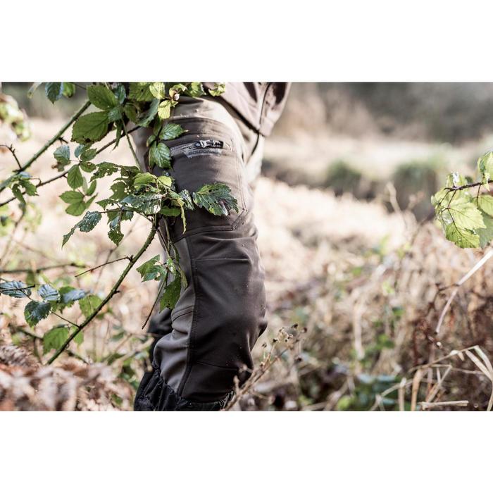 PANTALON chasse RENFORT 900 MARRON - 1166874
