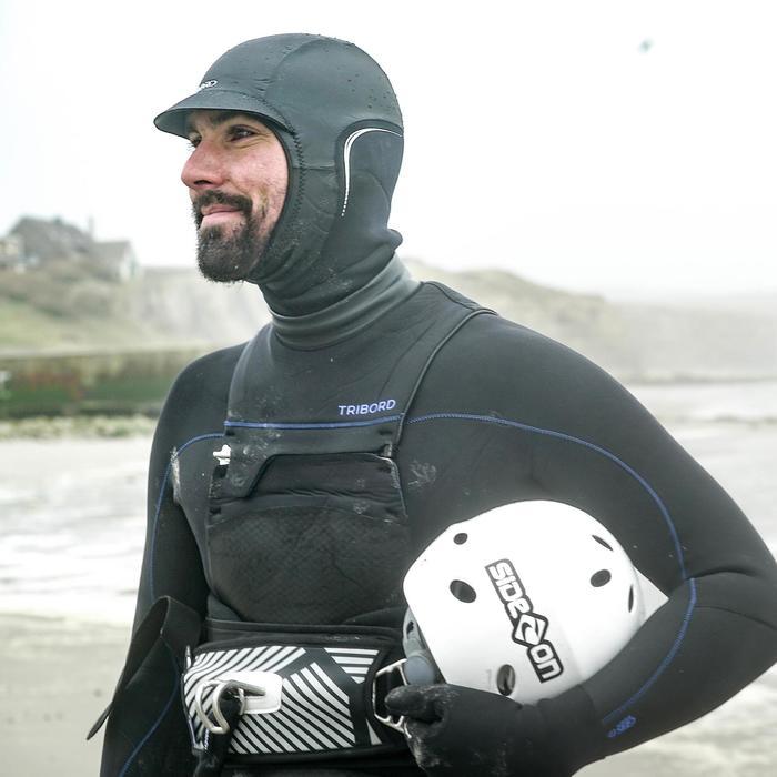 Kitesurf-Helm Pro verstellbar weiß