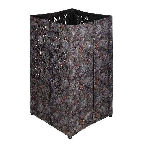 Vierkant loertent camouflage bruin - 1166937