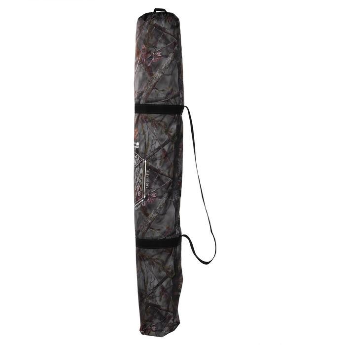 Vierkante loertent voor de jacht camouflage bruin - 1166938