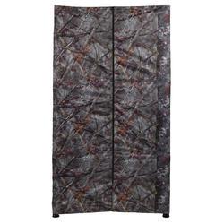 Poste d'affût carré camouflage marron