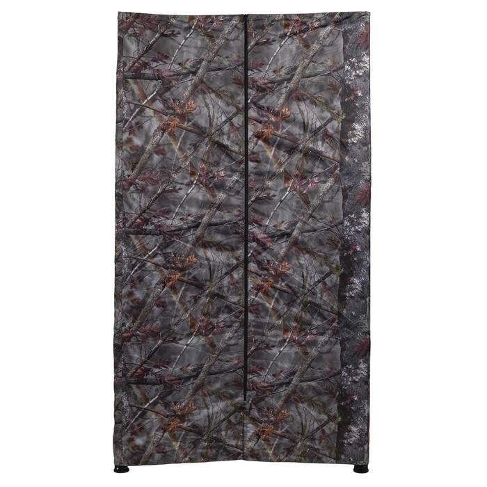 Vierkante loertent voor de jacht camouflage bruin - 1166941