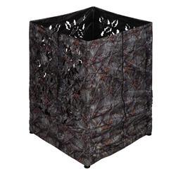 Jagdansitz quadratisch 3D Camouflage braun
