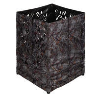 3D Square Camouflage Hunting Hide Brown