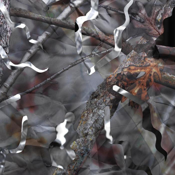 Vierkante loertent voor de jacht camouflage bruin - 1166943