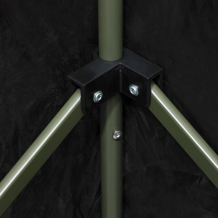 Vierkante loertent voor de jacht camouflage bruin - 1166945